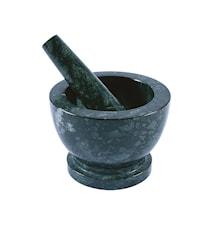 Mortel Marmor Mørkegrøn 13x18cm