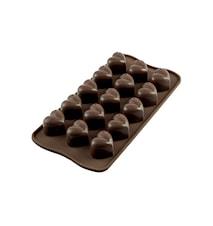 Easy Choco SCG01 MON AMOUR Silikonform 3x2,2x2,5cm