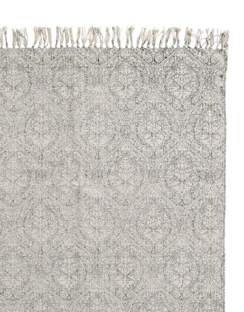 Essence bomuldstæppe 75x150 cm - Grå