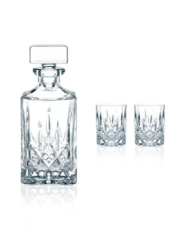 Noblesse Karaff + 2 Glas