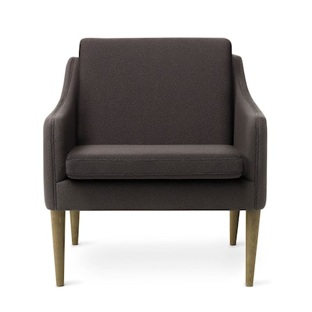 Mr. Olsen Lounge Chair Mocca Smoked Ek