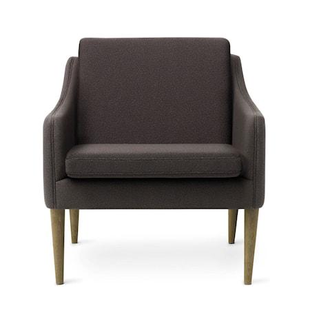 Mr. Olsen Lounge Chair Mocca Smoked Ek