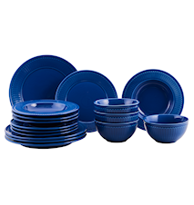 Fålhagen Porcelain Set 16 Pcs Blue