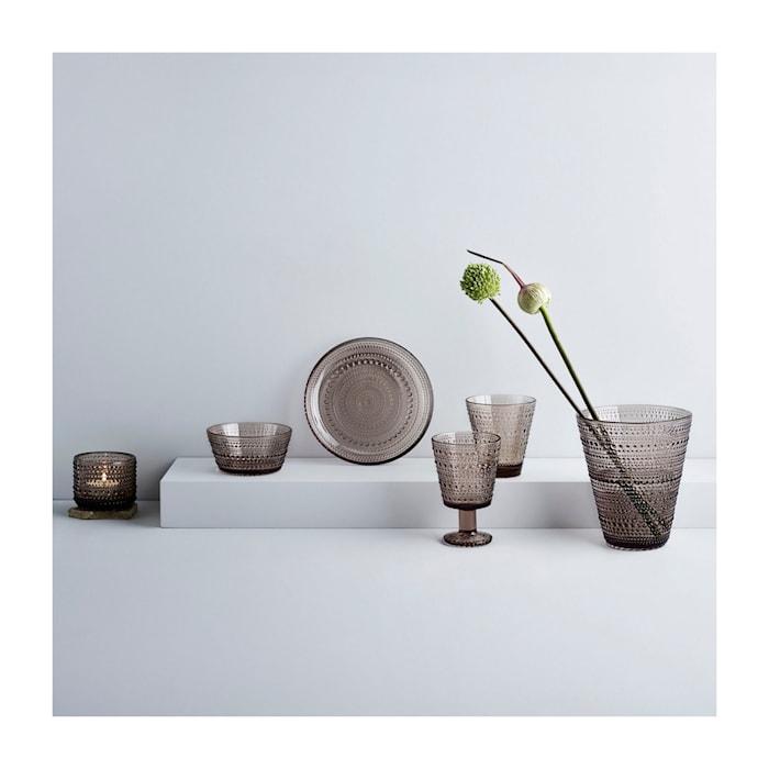 Kastehelmi Vase Leinen 15,4 cm