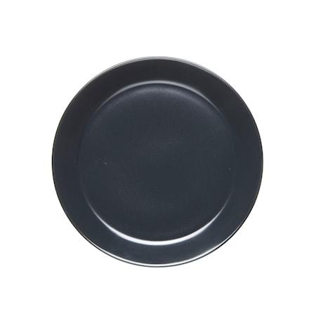HK Assiette 20 cm med kant grafitgrå matt