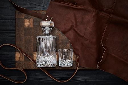 Whiskeykaraff med 4 glas