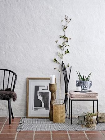 Bomullsmatta Svart och Vit 90x150 cm