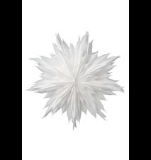 Oslo Papirstjerne Hvit 60 cm