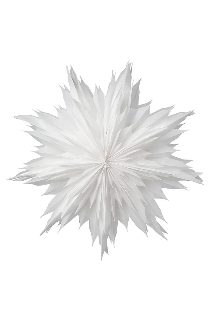 Oslo Pappersstjärna Vit 60 cm