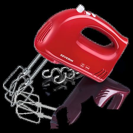 Elektrisk Visp Rød Med Deigkroker 300W