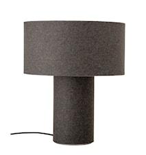 Lampe de table gris laine