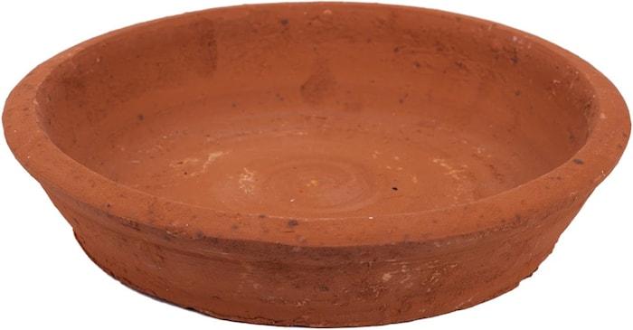 Fad til terrakottakrukke, Ø 20 cm x H 4,5 cm