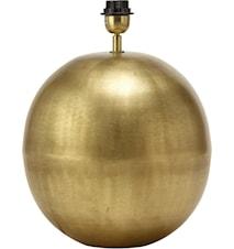 Globe Lampefod Pale Gold 15cm