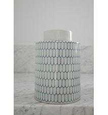 Ginza keramikburk – Indigo, medium