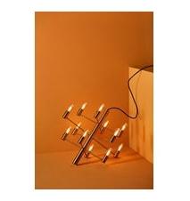 Manola 12 Kronor Satin Mässing Matt E14 Dimbar LED
