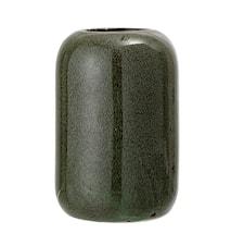 Vaso in gres verde Ø9,5x13,5cm