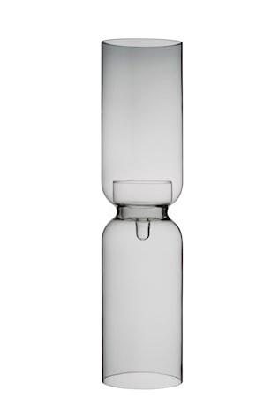 Lantern Ljuslykta Mörkgrå 60 cm