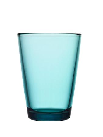 Kartio Glas Havsblå 40 cl 2-pak