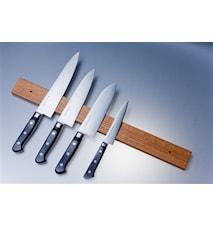 Bande magnétique pour couteaux chêne 50 cm
