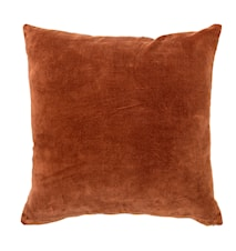 Tyyny Ruskea Puuvilla 45x45 cm