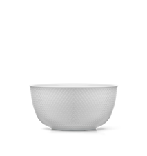 Rhombe Serveringsskål Vit Ø22 cm