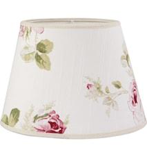 Oval Lampeskærm Rose 20 cm
