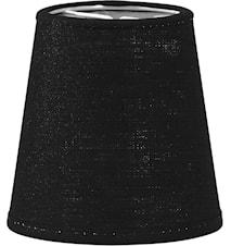 Queen Lampunvarjostin Franza musta 10 cm