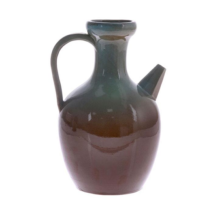 Karaff Keramik L Blå/Brun