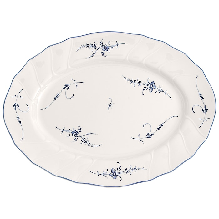 Old Luxembourg Oval platter 36cm