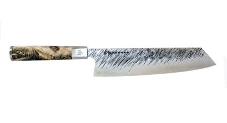 Ame Kiritsuke-Messer, Griff aus Kanadischer Lärche 23 cm