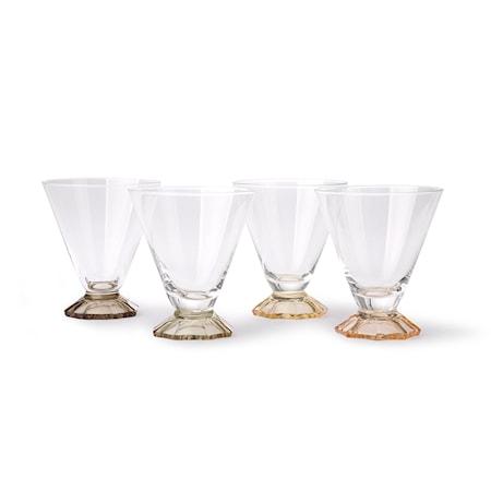 Coloured Cocktailglas 4 st