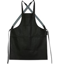 Suspender Apron Black