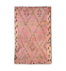 Håndlaget Woolen Berber Teppe Terra/Orange 180x280 cm