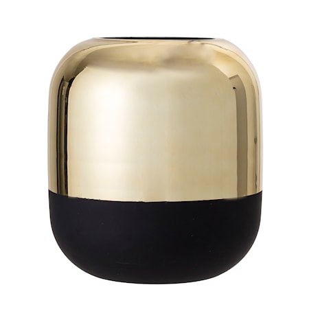 Vase Gold Glass Ø18x19,5 cm