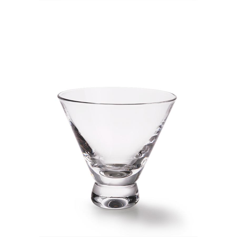 Stemless Martini Glas
