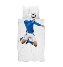 Fotbollsspelare Blå Påslankanset