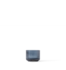 Ljuslykta Glas Midninght Blue Ø6,7 cm