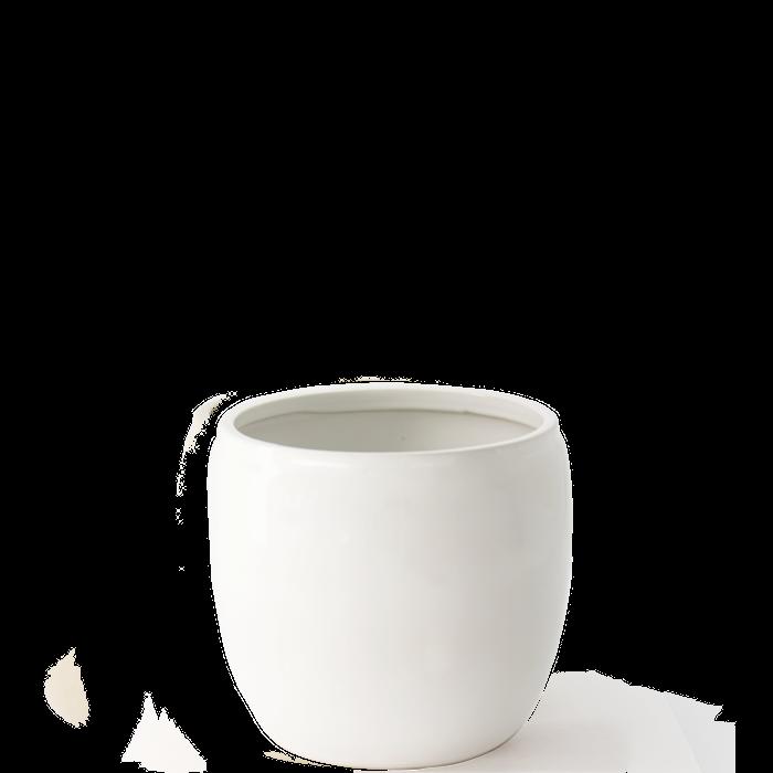 Ruukku Lasistettu Keramiikka 17,5x15 cm Valkoinen