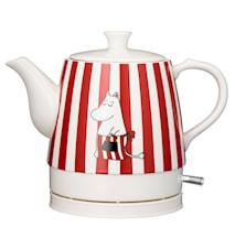 Romance Keramik-Wasserkocher Mumin Rot Design 0,8 L