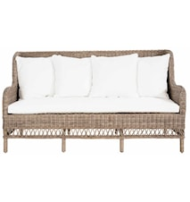 Dyna till Estelle 3-sits soffa Natur