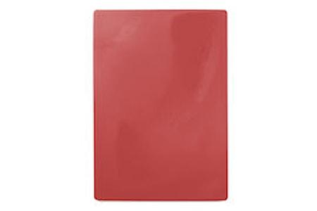 Skärbräda 49,5x35 cm Röd
