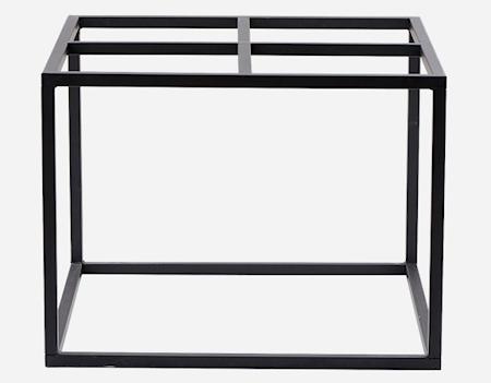 Bordsben 60x60x45 cm Svart