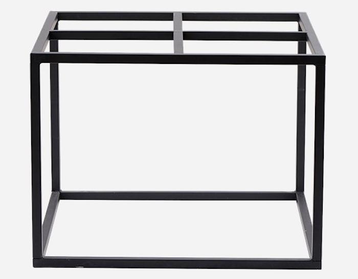 Underrede sofabord 60x60 cm