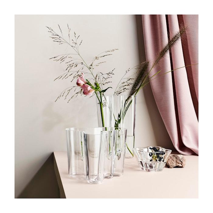 Aalto Vase 16cm Klar