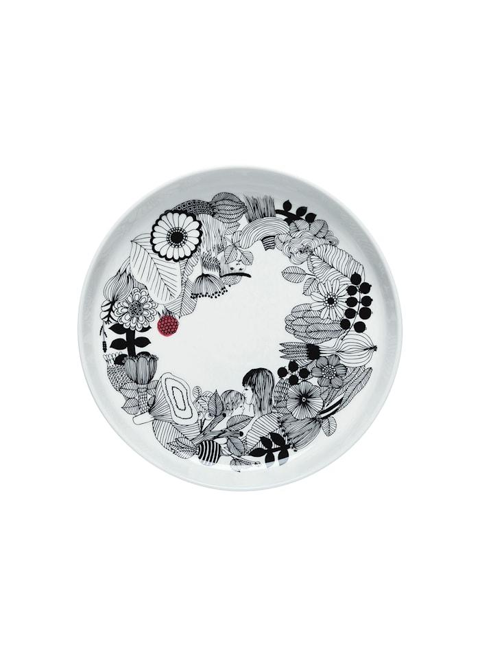 Siirtolap Serveringsfat 32 cm Svart/Rosa