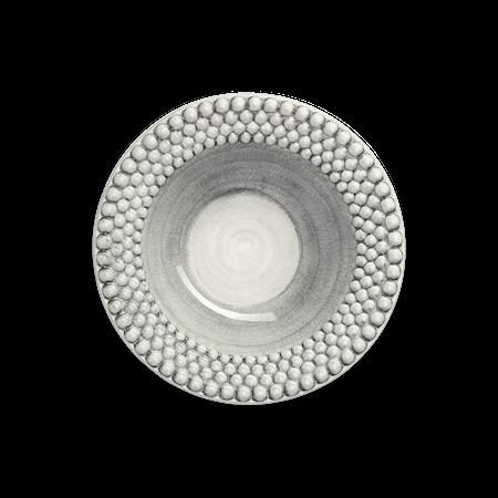 Bubbles Sopptallrik Grå 25 cm