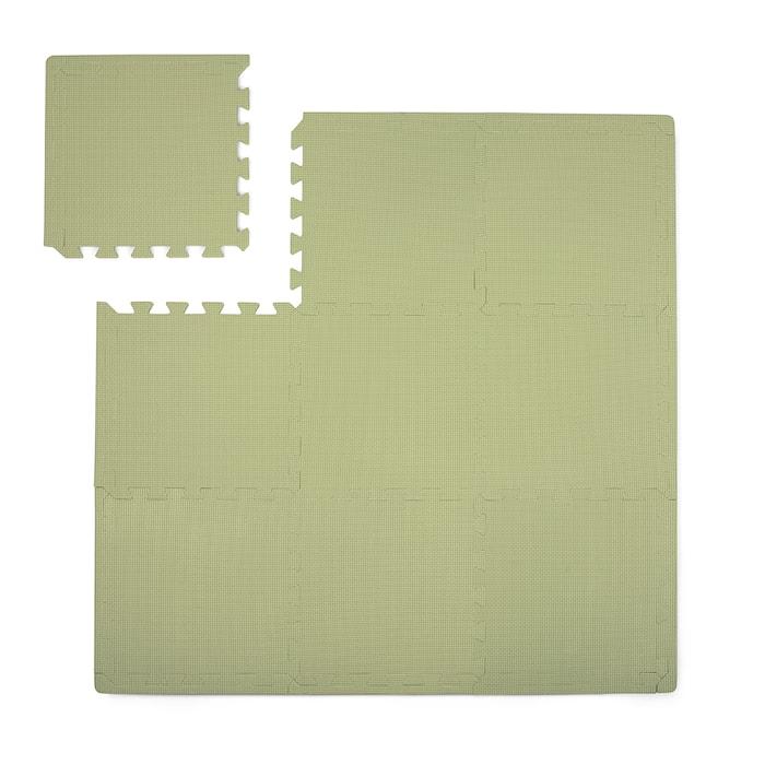 Lekmatta Dusty Green 100x100cm