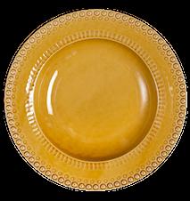 DAISY plato hondo/cuenco para pasta amarillo 35 cm