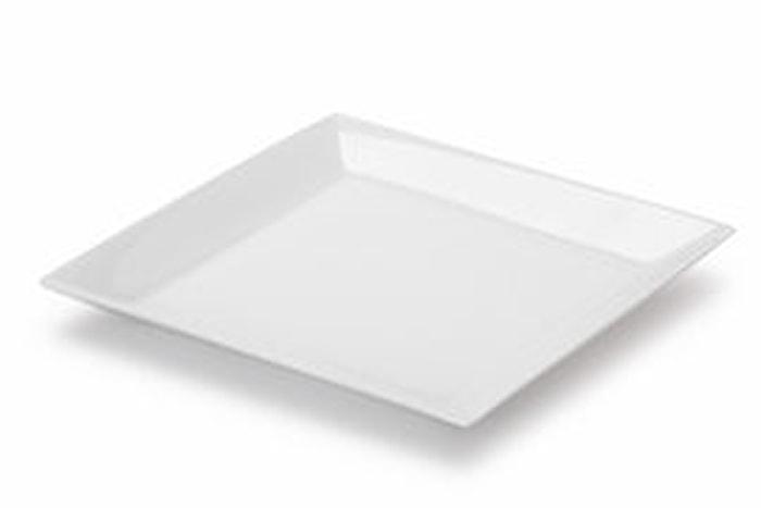 Quadro Flat tallerken 27x27 cm