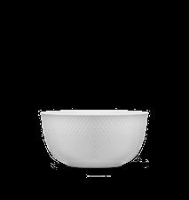 Rhombe Serveringsskål Ø17,5 cm Hvit Porselen